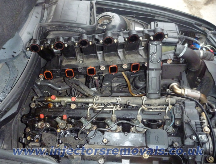 Injector removal from BMW with 3.0 diesel
