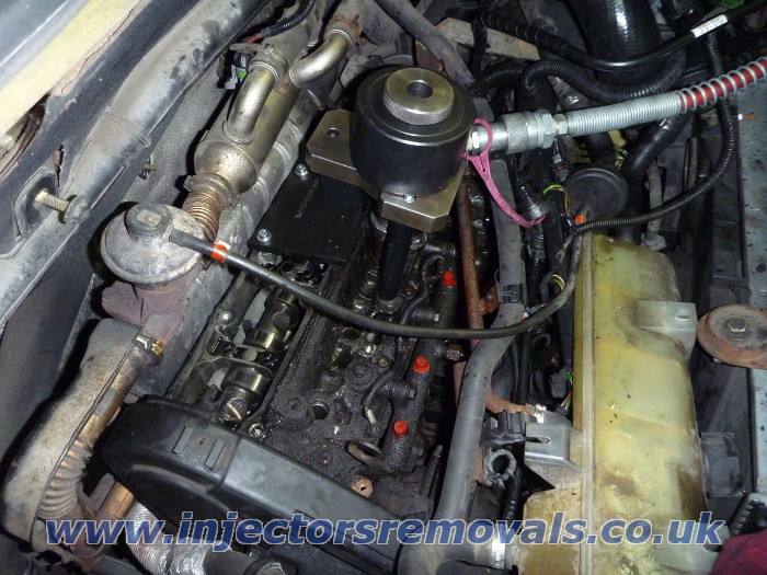 Injector removal from Fiat Ducato / Citroen