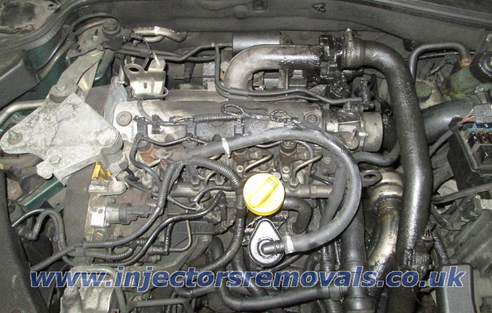 Injector removal from Renault Laguna / Clio /