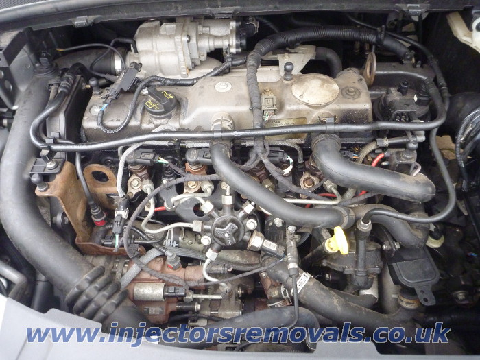 Injector removal from any Ford with 1,8 TDCI