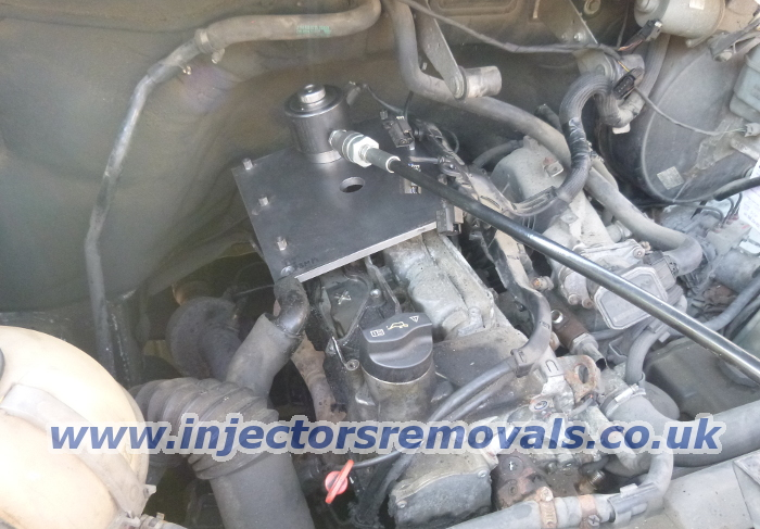 Injector removal from Mercedes Viano / Sprinter