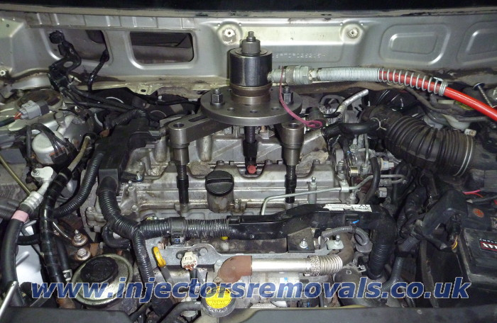 Injector removal from Toyota with 2.2 D-4D
