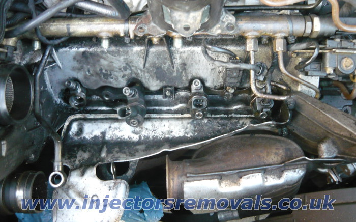 Injector removal from Mercedes A class W168 with